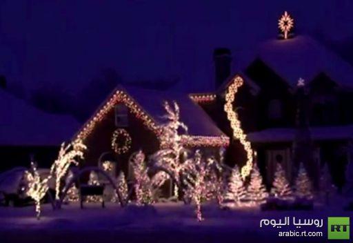 عيد رأس السنة.. موسكو تحتفل بالصوت والضوء