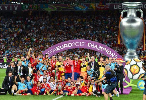 المنتخب الإسباني يحرز لقب بطل كأس الأمم الأوروبية لكرة القدم