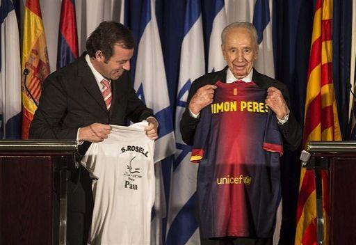 روسيل يدعو إلى مباراة سلام بين إسرائيل وفلسطين برعاية برشلونة