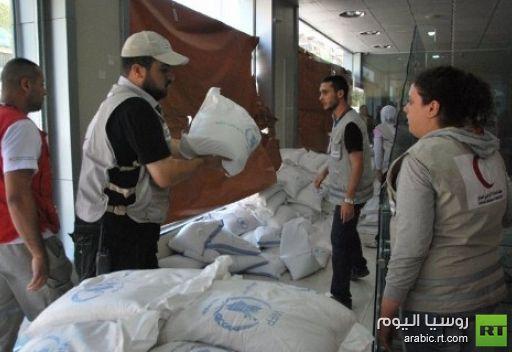 وصول معونات إنسانية إلى مناطق سورية يسيطر عليها المسلحون