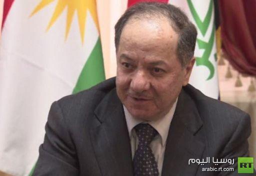رئيس كردستان العراق يناقش في موسكو الأزمة السورية والتهديدات الإرهابية