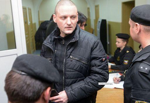 محكمة موسكو تقضي بفرض الإقامة الجبرية على المعارض اليساري الروسي سيرغي أودالتسوف