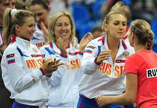 روسيا الى نصف نهائي كأس الاتحاد للتنس
