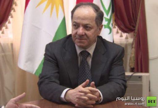 بارزاني الى موسكو لبحث العلاقات مع روسيا والتطورات السياسية في العراق