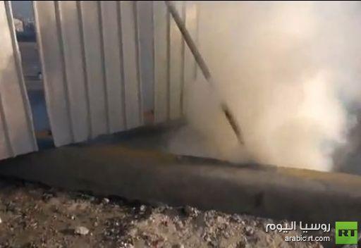 اشتباكات بين الشرطة والمتظاهرين في البحرين