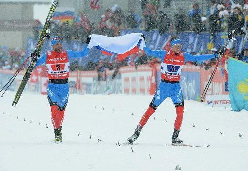 ثنائي بيتوخوف وكريوكوف يفوز بذهبية سباق التزلج السريع
