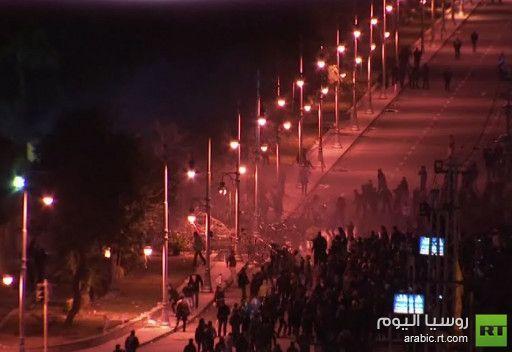 مصر.. توقف الاشتباكات بمحيط قصر الاتحادية بعد سقوط قتيل وعشرات الجرحى
