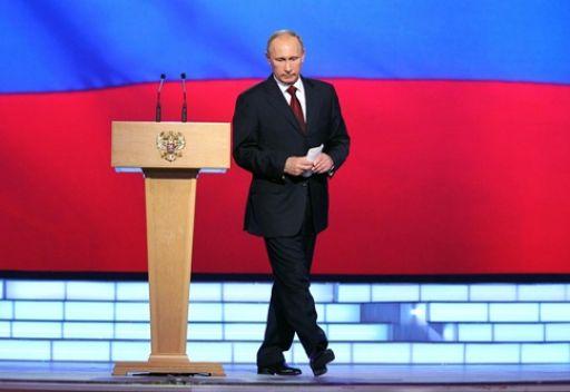 بوتين: روسيا ستواصل العمل من أجل رفع قدرتها القتالية