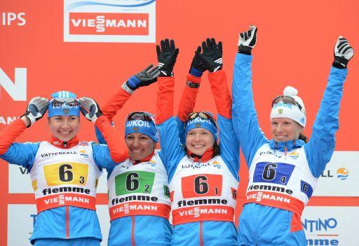 المتزلجات الروسيات يحرزن ميدالية برونزية في بطولة العالم لرياضات التزلج
