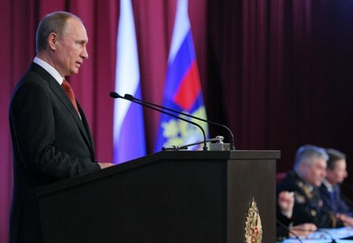 بوتين: أكثر من 600 جريمة ذات طابع إرهابي سجلت في روسيا العام الماضي