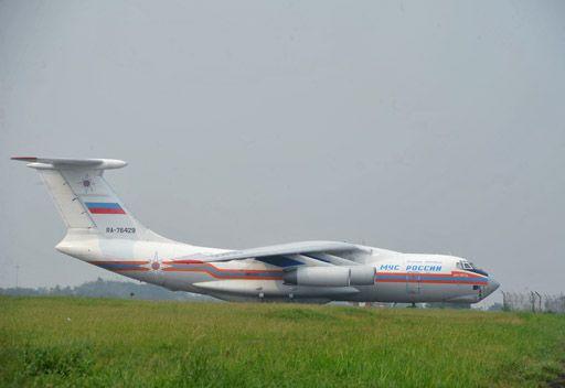 وصول طائرتين روسيتين مع مساعدات إنسانية إلى اللاذقية