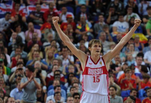 الروسي كيريلينكو أفضل لاعب كرة سلة في أوروبا لعام 2012