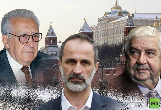 الخارجية الروسية تؤكد زيارة المعلم والخطيب الى موسكو