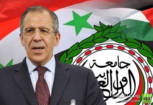 لافروف: سوف نستخدم كافة الإمكانيات من اجل حصول اتصالات مباشرة بين الحكومة والمعارضة في سورية