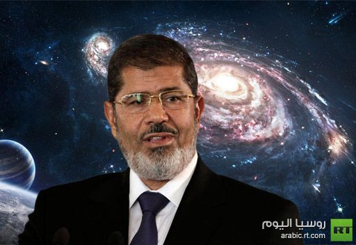مرسي يحتل المركز الثالث في منافسة جارية للفوز برحلة الى الفضاء