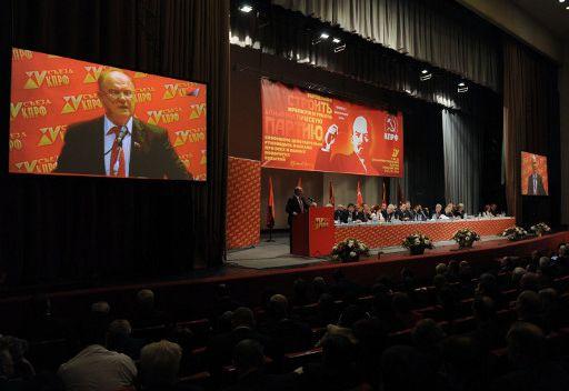 الحزب الشيوعي الروسي يدعم دمشق الرسمية ويتهم الغرب بالعدوان على سورية