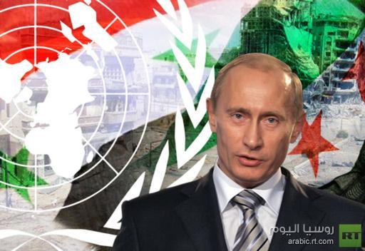 بوتين يناقش مع اعضاء مجلس الامن القومي الاوضاع في الشرق الاوسط