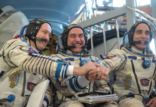 إقرار الطاقم الجديد للمحطة الفضائية الدولية