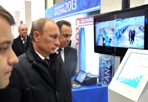 بوتين يقترح إلغاء تأشيرة الدخول للرياضيين
