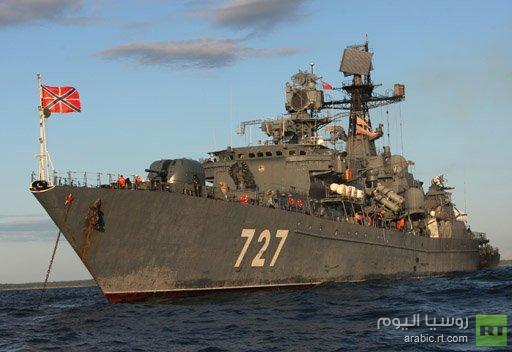 تموين سفن روسية في بيروت بدلا من طرطوس بسبب التصعيد في سورية