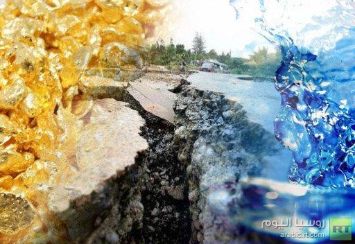 الزلازل تساعد على ترسب الذهب من المياه المتبخرة في قاع الأرض