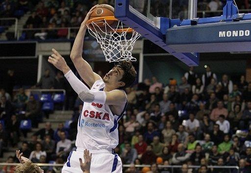 تسيسكا موسكو يحقق فوزه اليوبيلي الـ 200 بالدوري الأوروبي لكرة السلة