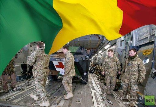 وصول اول مجموعة من المدربين العسكريين البريطانيين الى مالي