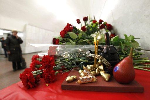 الذكرى الثالثة للتفجيرين في مترو موسكو