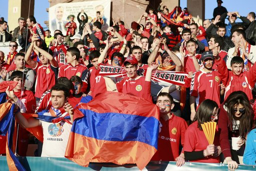 أرمينيا ترشح عاصمتها لاستضافة اليورو 2020