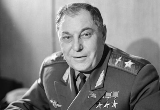 المارشال ألكسندر بوكريشكين أحد نسور الجو في الحرب الوطنية العظمى
