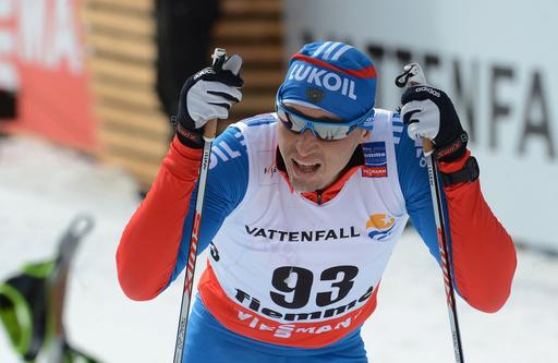 الروسي ليخكوف يحرز ذهبية العالم في سباق 50 كلم تزلج