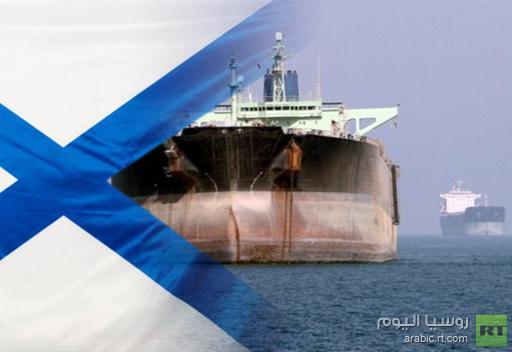 سفينة حربية روسية ترافق قافلة من السفن المدنية في البحر العربي وخليج عدن