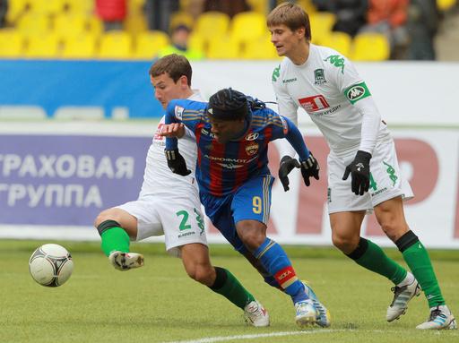 تسيسكا يوسع الفارق مع آنجي في الدوري الروسي
