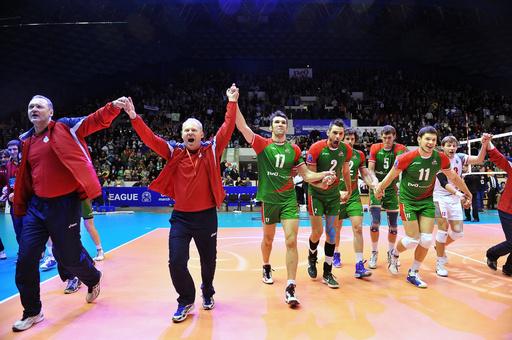لوكوموتيف نوفوسيبيرسك بطلا لدوري أبطال أوروبا في كرة الطائرة