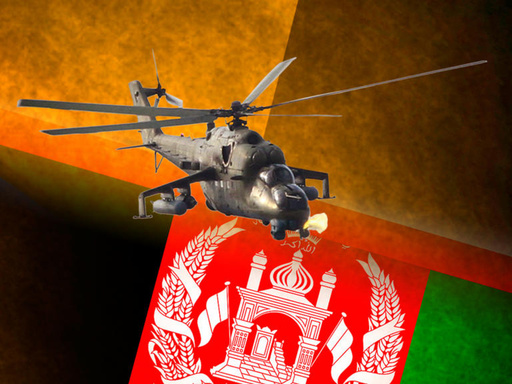 للمرة الثانية خلال اسبوع.. تحطم مروحية للناتو بأفغانستان