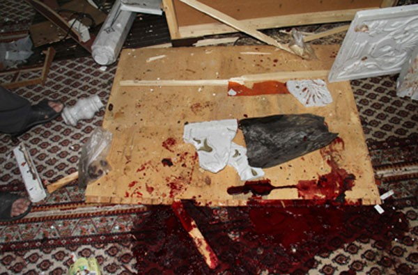 اغتيال الشيخ البوطي و42 آخرين بينهم حفيده في تفجير انتحاري في دمشق