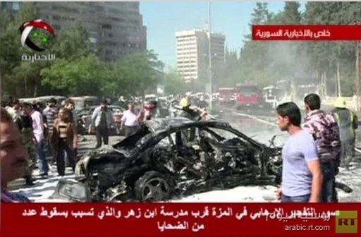 نجاة رئيس الحكومة السوري من محاولة اغتيال وأنباء عن مقتل حارسه الشخصي