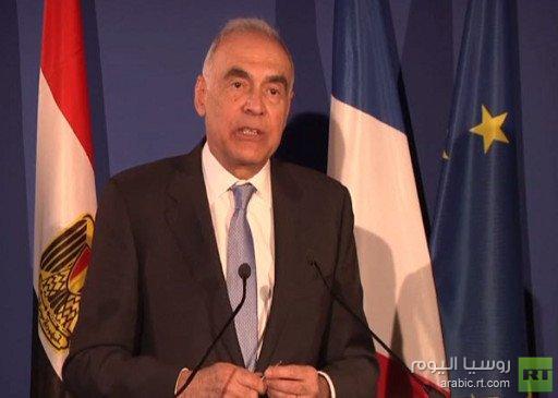 وزير الخارجية المصري: الحل في سورية يجب أن يكون سياسيا