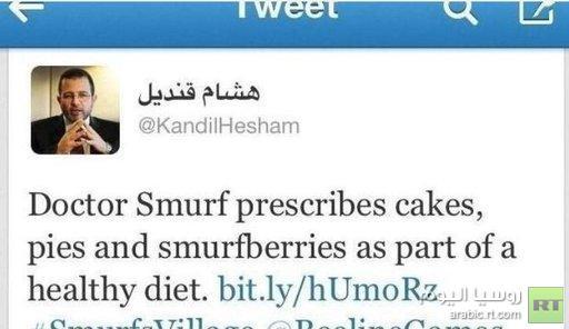 رئيس وزراء مصر يغرّد من