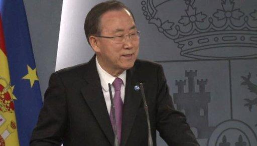 بان كي مون: التهديد النووي أمر خطير للغاية.. وبيونغ يانغ ذهبت بعيدا جدا في خطابها