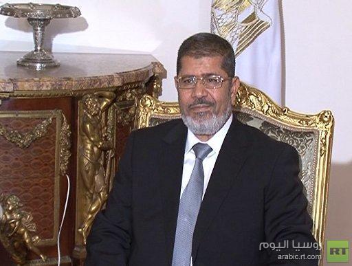 مرسي يتوعد بالتصدي لنشر التشيع في مصر