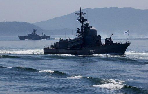 مجموعة من السفن الحربية الروسية تتوجه إلى البحر الأبيض المتوسط