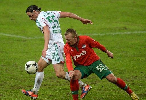 لوكوموتيف موسكو يقع في فخ التعادل أمام تيريك