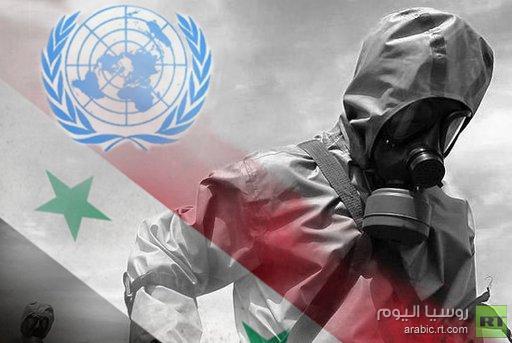 دمشق ترفض طلب بان كي مون انتشار بعثة محققي الكيميائي على كامل الاراضي السورية