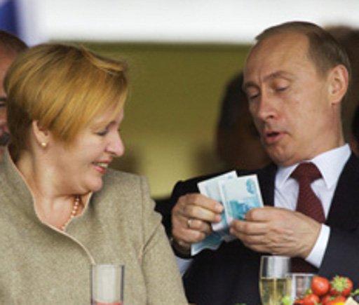 186.8 ألف دولار مداخيل بوتين في العام الماضي