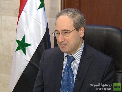المقداد: سورية ستختفي عن الخريطة إذا تنحى الأسد