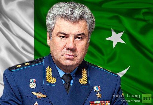 قائد سلاح الجو الروسي يزور باكستان