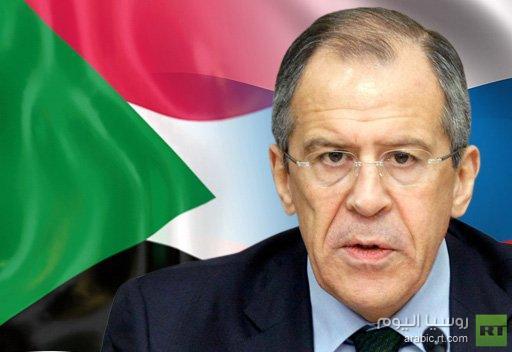 وزير الخارجية الروسي يجري مباحثات مع نظيره السوداني