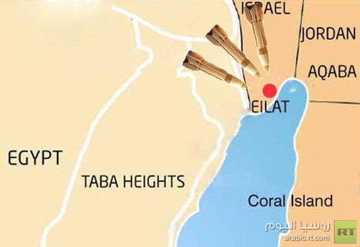هجوم بالصواريخ على إيلات ولا أنباء عن سقوط ضحايا
