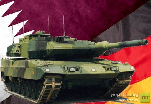 ألمانيا توقع اتفاقية لتوريد 90 دبابة وهاوتزر ذاتي الحركة الى قطر